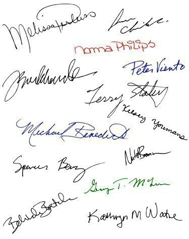 Как определить характер человека по его почерку?