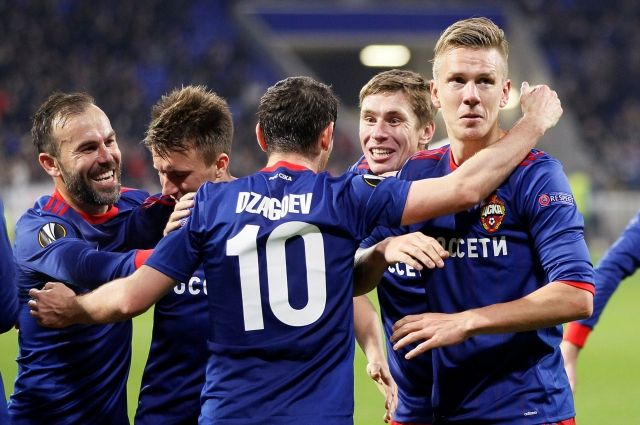 ЦСКА вышел в четвертьфинал Лиги Европы