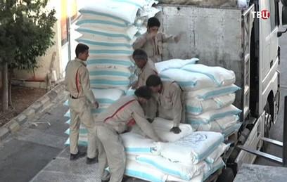 В Восточной Гуте налаживается производство продуктов