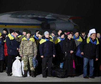Как на Украине помогают освобожденным из плена «героям АТО»