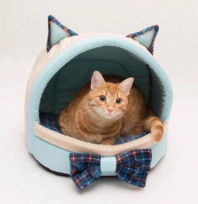 Выкройка лежанки для кота