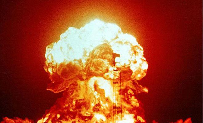 Самый мощный подземный ядерный взрыв в истории