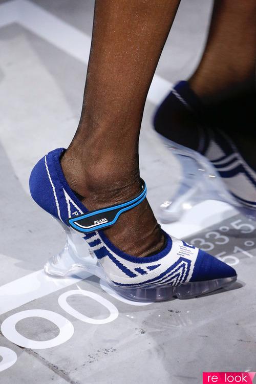 модная прозрачная обувь