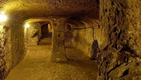 12 000-летние тоннели пролегающие под всей Европой