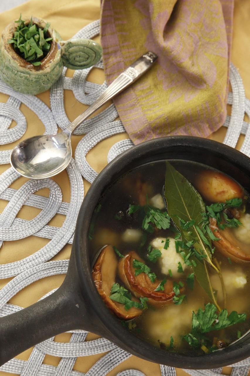 «Игра престолов» на тарелке. Суп с угрем семьи Грейджой