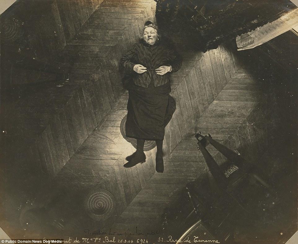 Первые в своем роде фотографии с мест преступлений 1904 года