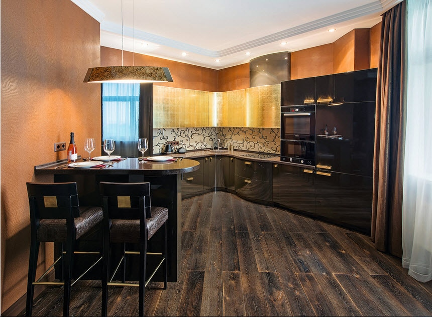 Угловая кухня: идеи для разных по площади и стилю помещений