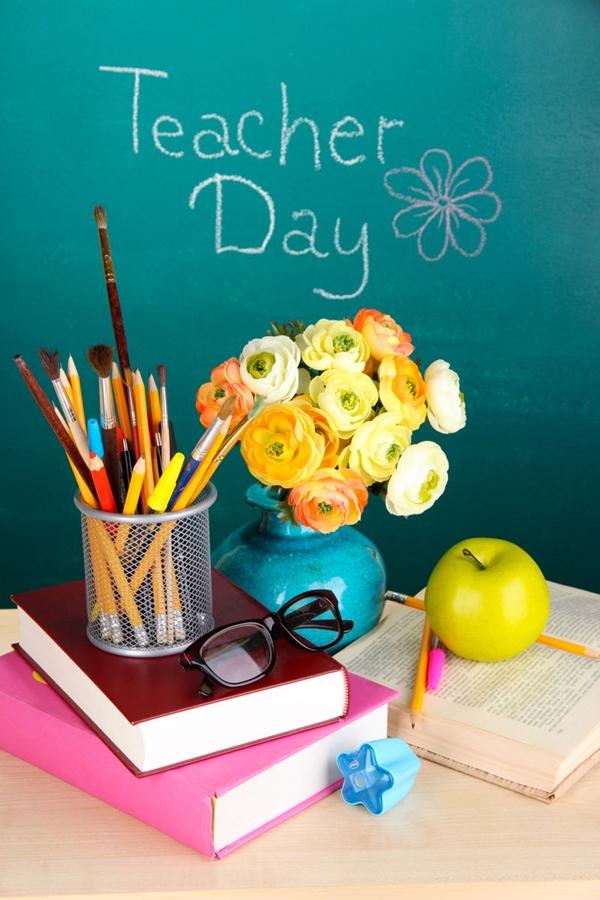 Рисунки открытки с днем учителя