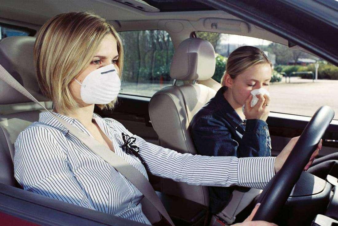 Как защитить себя от выхлопных газов во время езды на автомобиле?