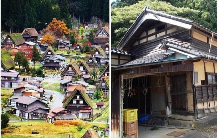 В Японии раздают дома, но с условием