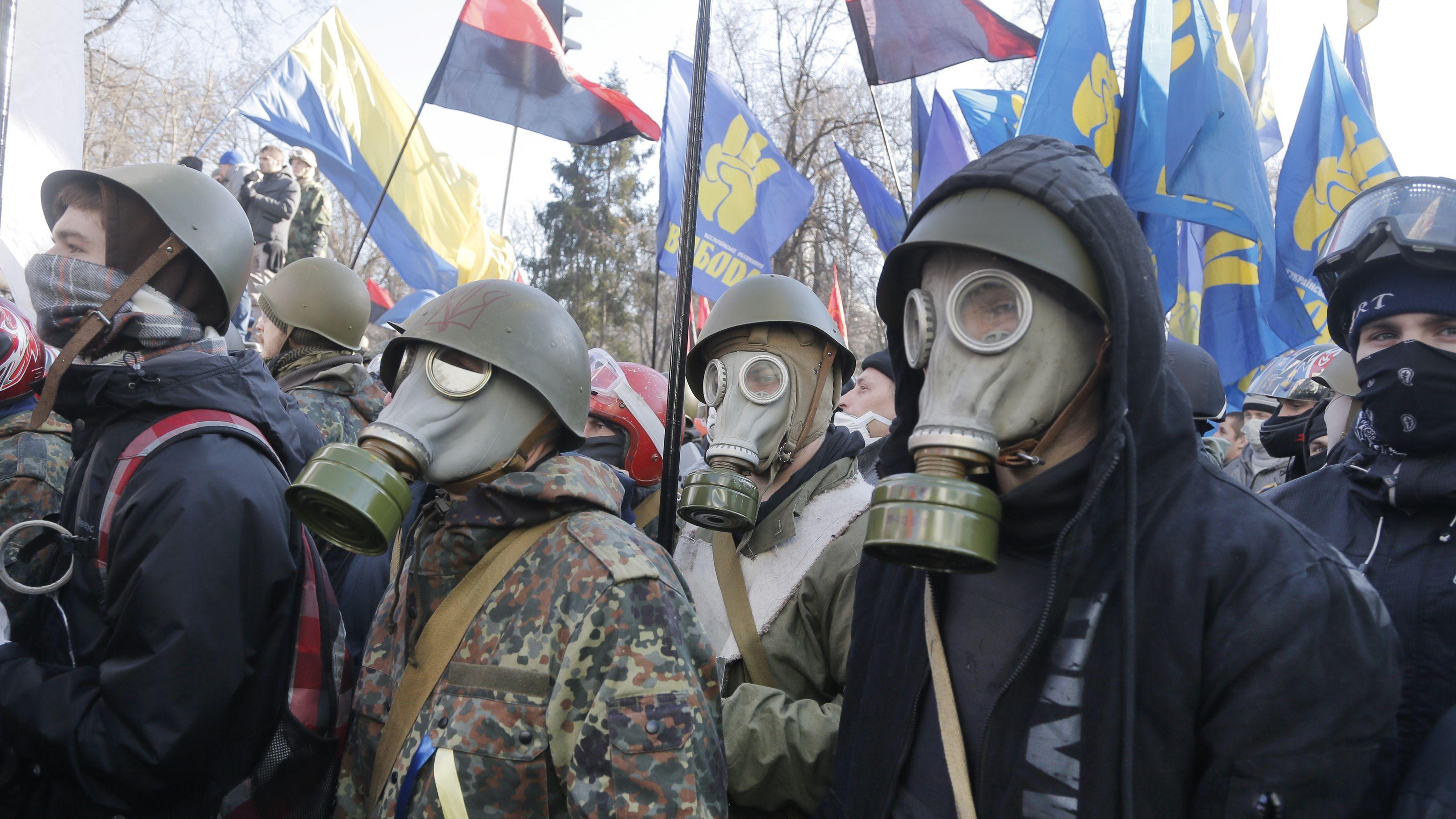 В Крыму напомнили украинским неонацистам о Нюрнбергском процессе Аксенов,Крым,Националисты,Политика,Россия,Украина