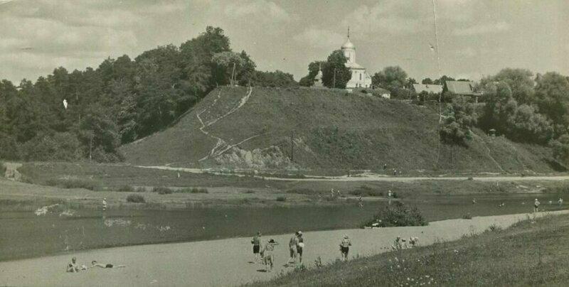 Звенигород, Московская область СССР, пляж, ретроспектива