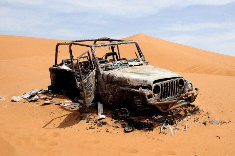Находки пустыни Руб-эль-Хали. Как выжить в пустыне