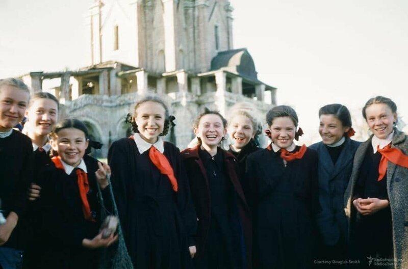 Школьницы из Коломенского СССР, фото, это интересно