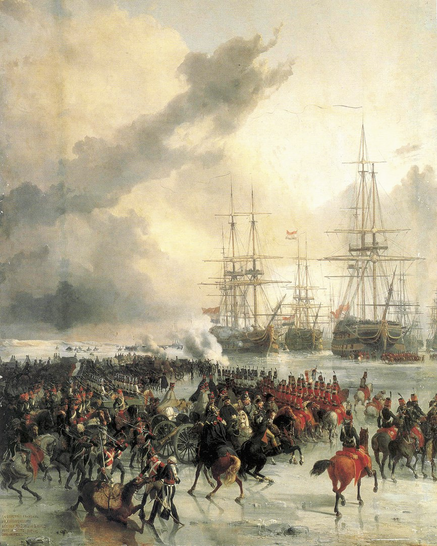 Захват флота кавалерией
