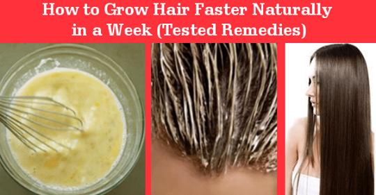 Как естественным способом быстро отрастить волосы за неделю (протестированные средства)