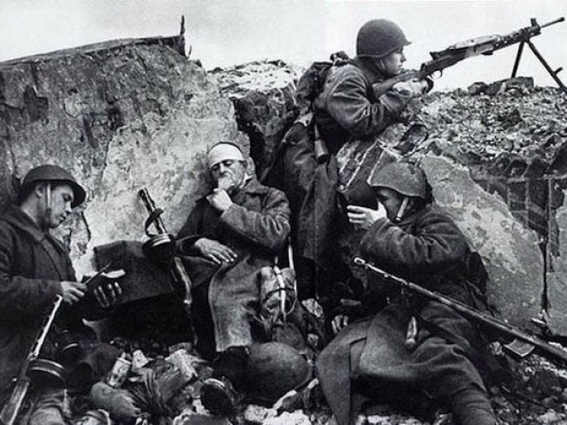 Немецкие солдаты о советских