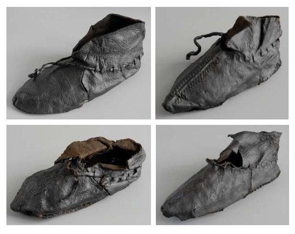 Древнерусская кожаная обувь …