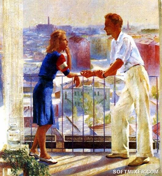 Мужчина и женщина в советской стране