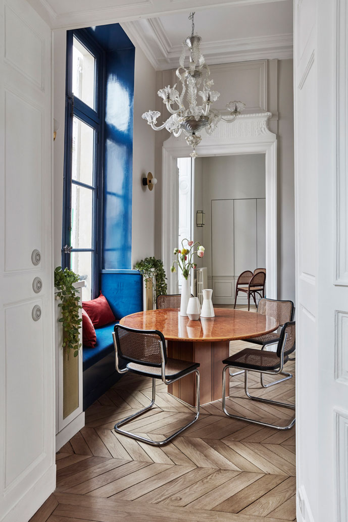 Великолепные эклектичные апартаменты в доме 17-ого века в Париже апартаменты