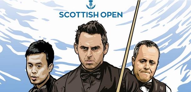 Scottish Open 2017. 1/8 финала