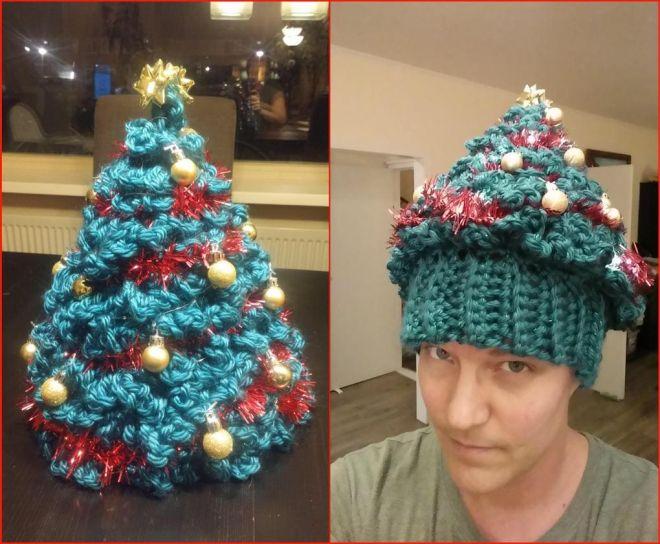 Елка-шапка