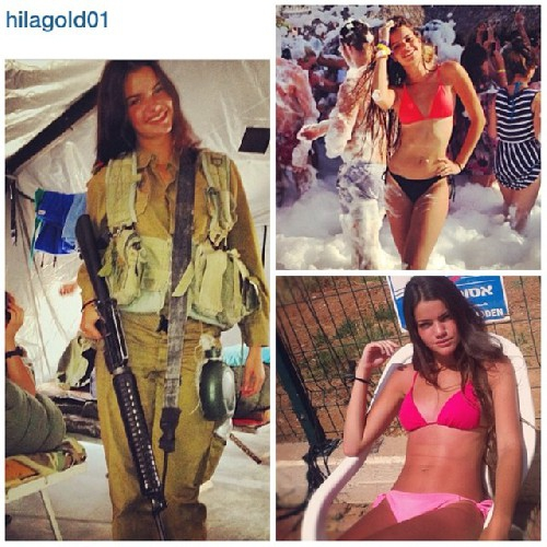 Симпатичные еврейки-военнослужащие: На службе и дома армия, еврейки
