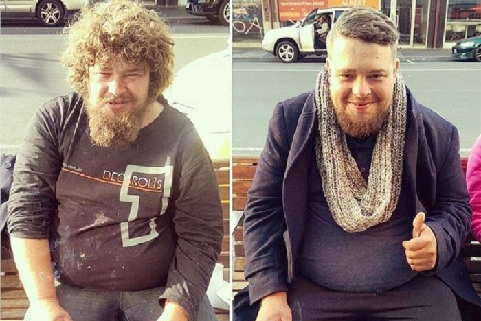 Парень бесплатно подстригает бездомных на улицах города  - дает надежду на новую жизнь