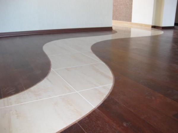 СтройРемПлан. Как оформить стыки плитки и ламината