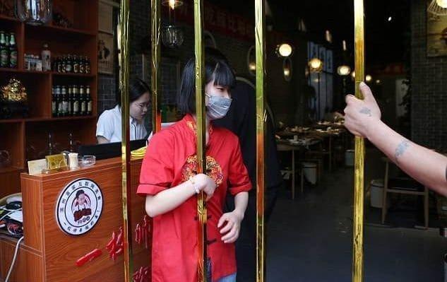 необычный ресторан в китае