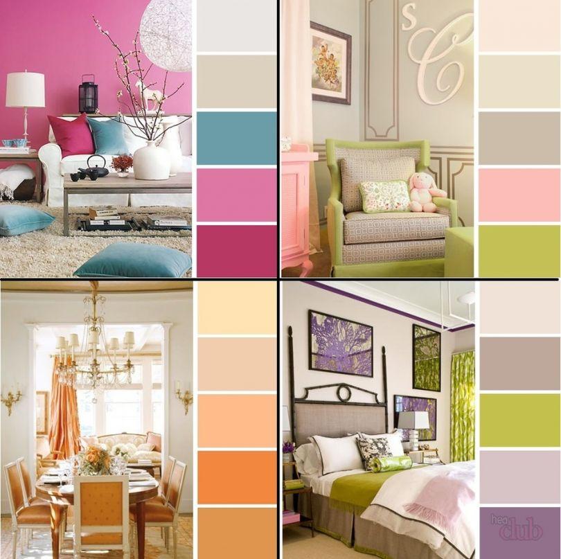 какие цвета сочетаются друг с другом