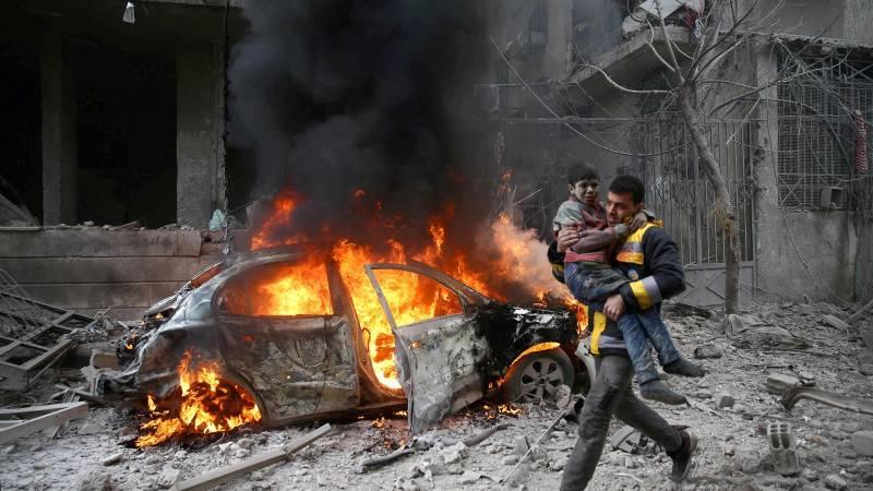 Сирийский узел: десять лет «арабской весне» Башара Асада сирия