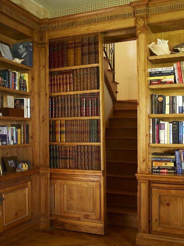 Функциональные и красивые способы хранения книг.