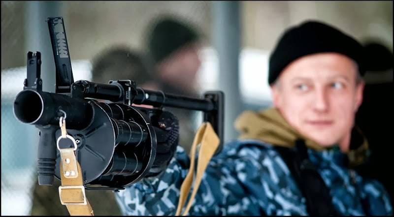 У нас гранатомет РГ-6, а у них?