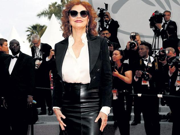 70-летняя Сьюзан Сарандон даст фору молодым актрисам