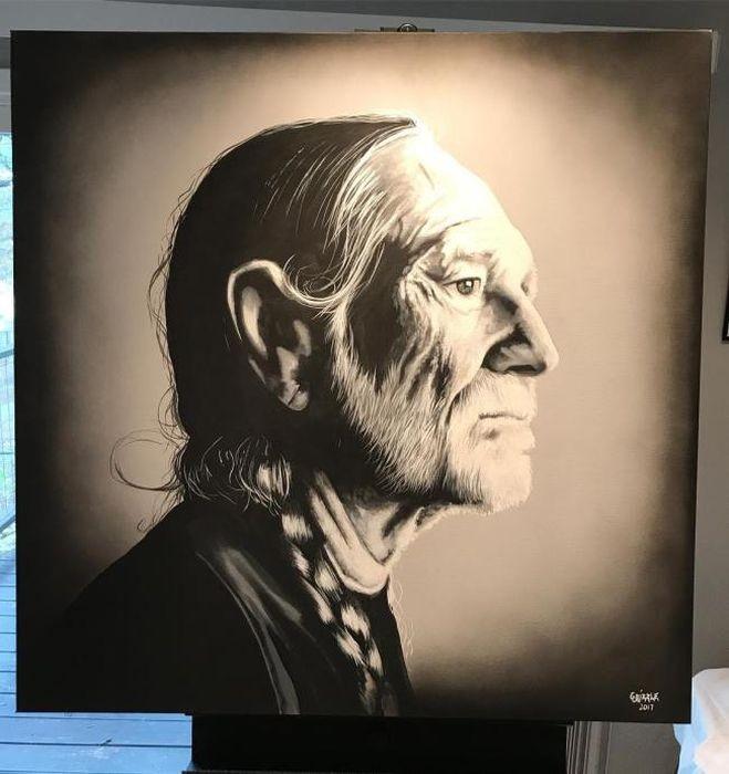 Мастер портретов – художник Дэвид Гризл