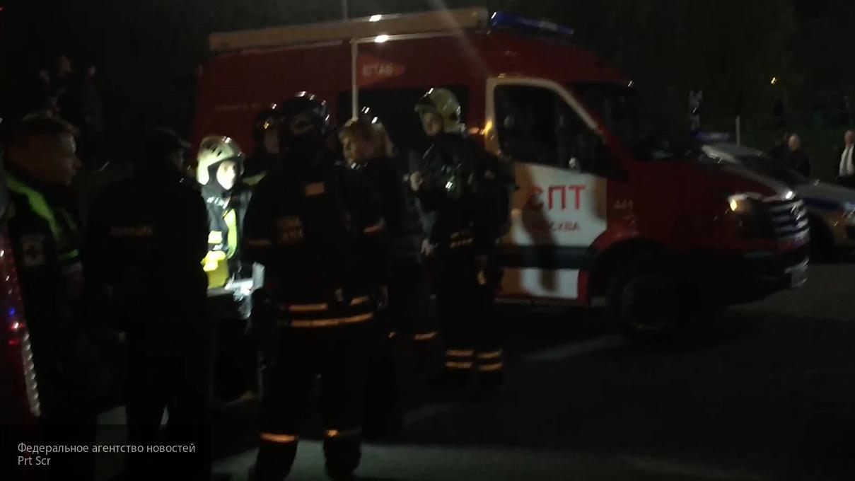 При пожаре в Улан-Удэ были спасены четыре человека