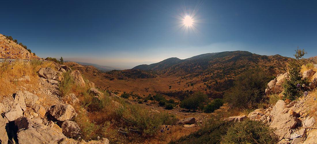 Голанские высоты: одно из самых известных мест на Земле, которое мало кто видел авиатур