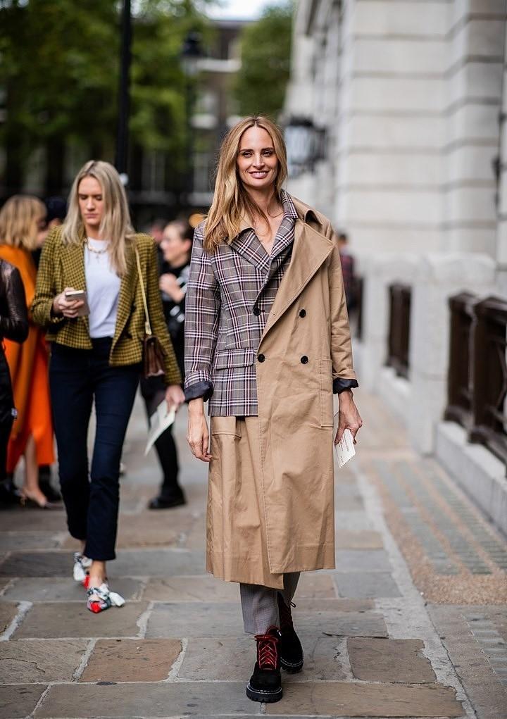 Street style — самые эффектные образы Недели моды в Лондоне 2018