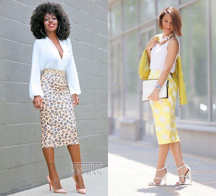 С чем носить юбку-карандаш и выглядеть модно фото №7