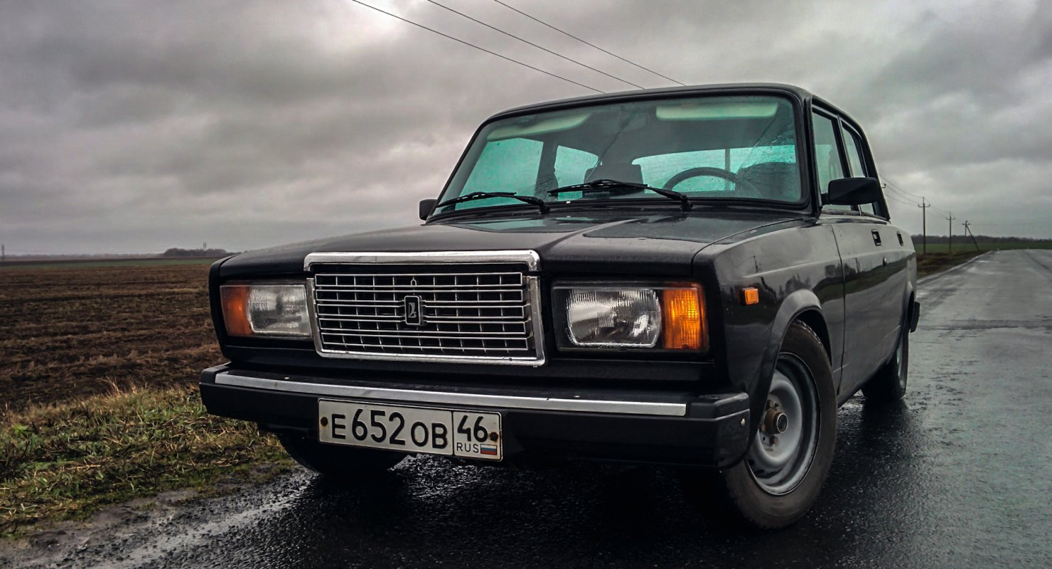 Почему ВАЗ-2107 стал самым продаваемым в 2000-х Автомобили