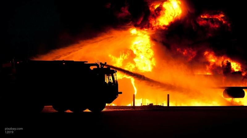 СК РФ возбудил дело по факту страшного пожара в жилом доме в Красноярске