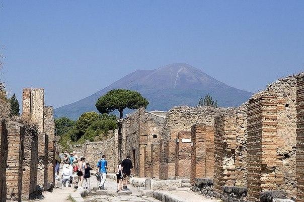 Древнеримский город Помпеи