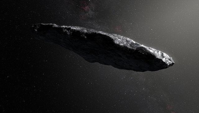 """Ученые заподозрили, что """"межзвездный астероид"""" является кораблем пришельцев"""