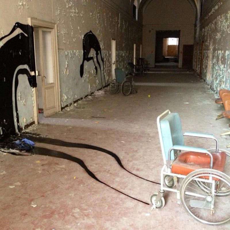 6. Заброшенная психиатрическая больница в Парме, Италия интересное, история, поучительное, факты