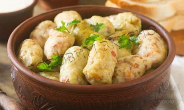 Голубцы из квашеной капусты по молдавскому рецепту
