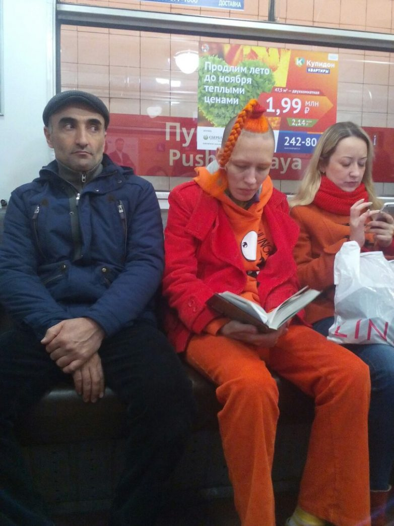 Эти чудики из метро вас снова удивят