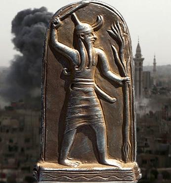 Баал – оклеветанный бог Востока о сатане, анунаках и... сирийской войне