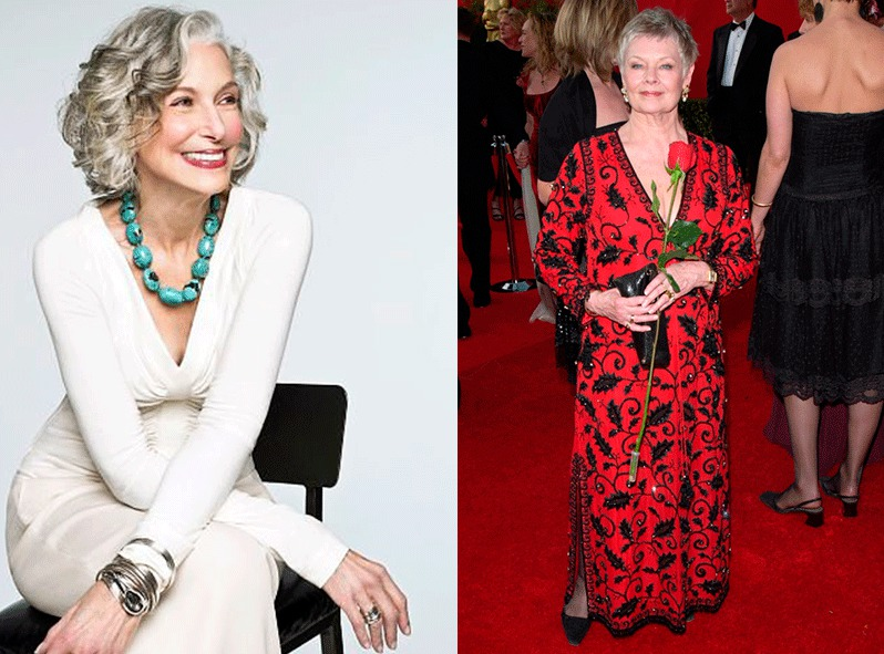 Если вам за 60 - стиль модных и взрослых дам. Проверено временем