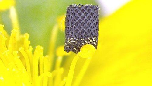 Объект из графенового аэрогеля